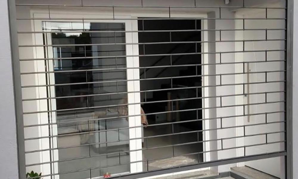 cortina de grades